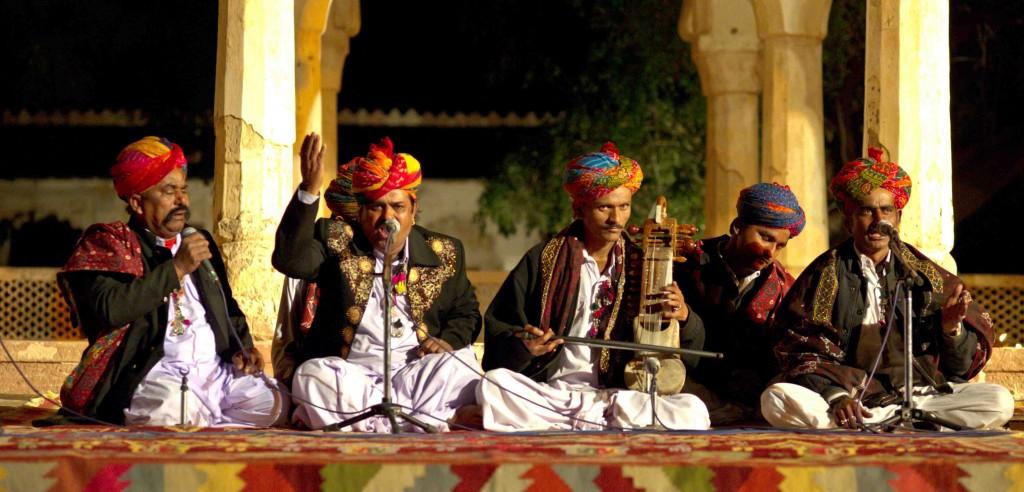 Viaggio in India, Nagaur, musicisti sufi