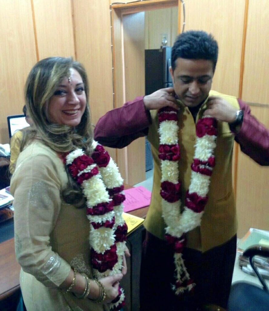 SusIndia | Matrimonio misto indo-italiano con rito civile