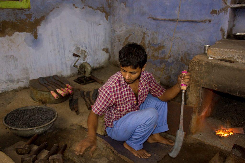 Cosa vedere in Rajasthan, Khandela, fabbro