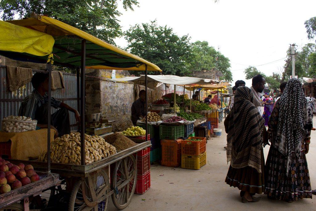 Cosa vedere in Rajasthan, Khandela, mercato