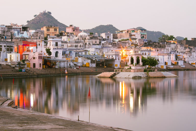 Cosa vedere in Rajasthan, Pushkar, ghat