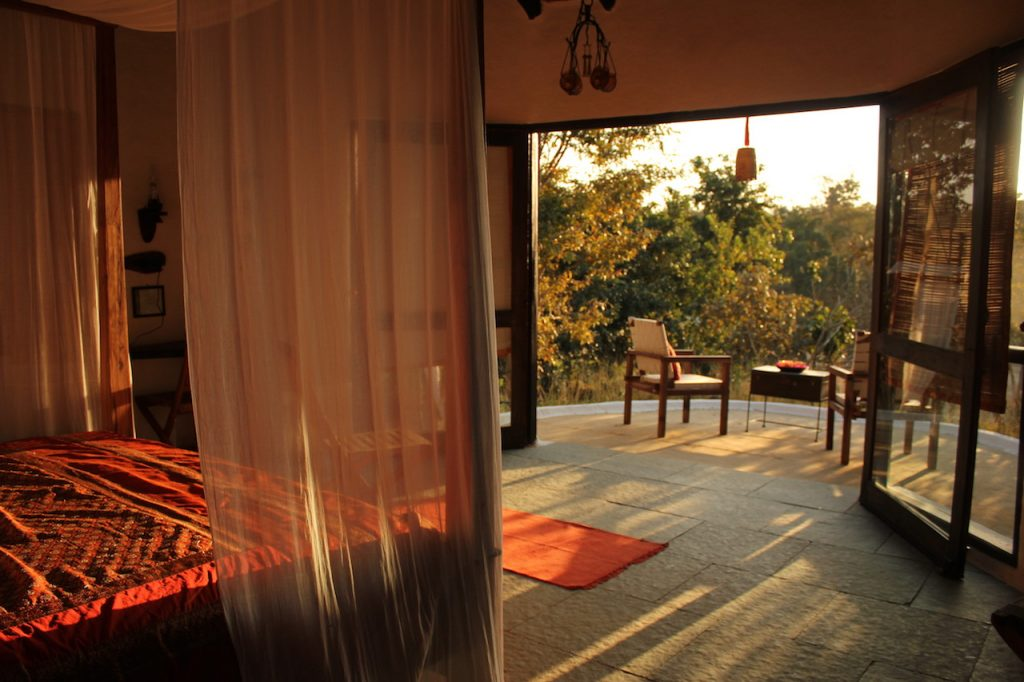 Viaggiare in India, Cottage Flame of the Forest, Kanha