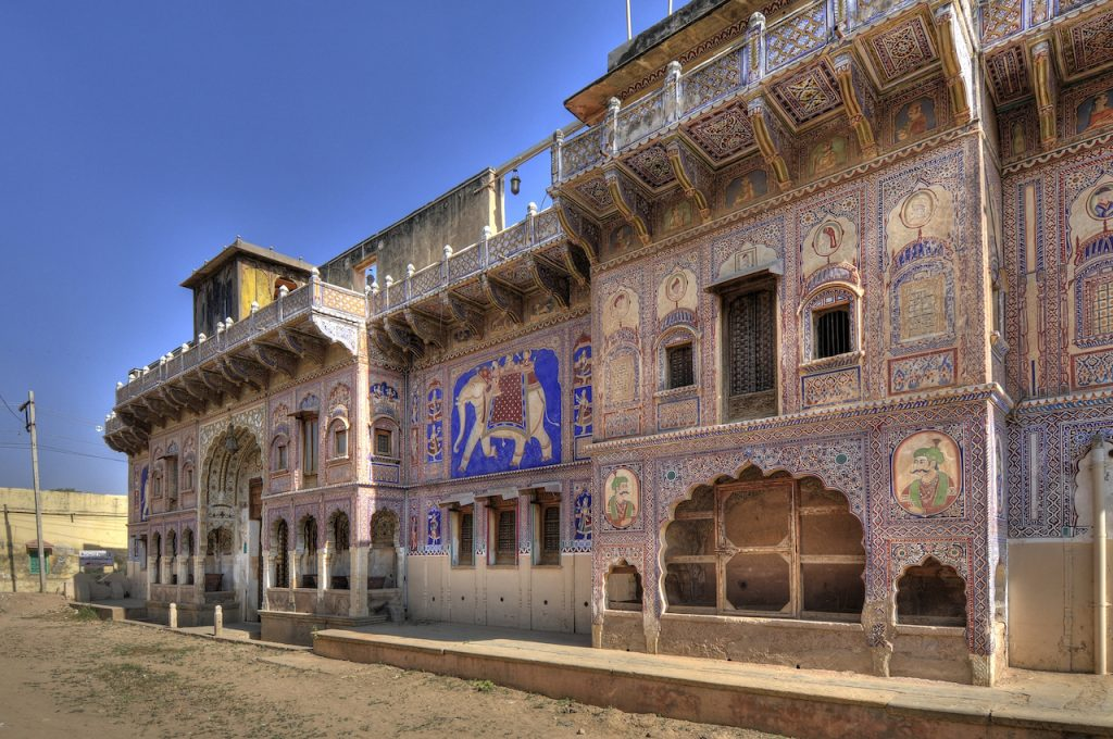 Viaggiare in India, Fatehpur, Rajasthan, Haveli Nadin