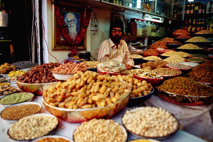 Viaggio in India, Delhi, mercato delle spezie
