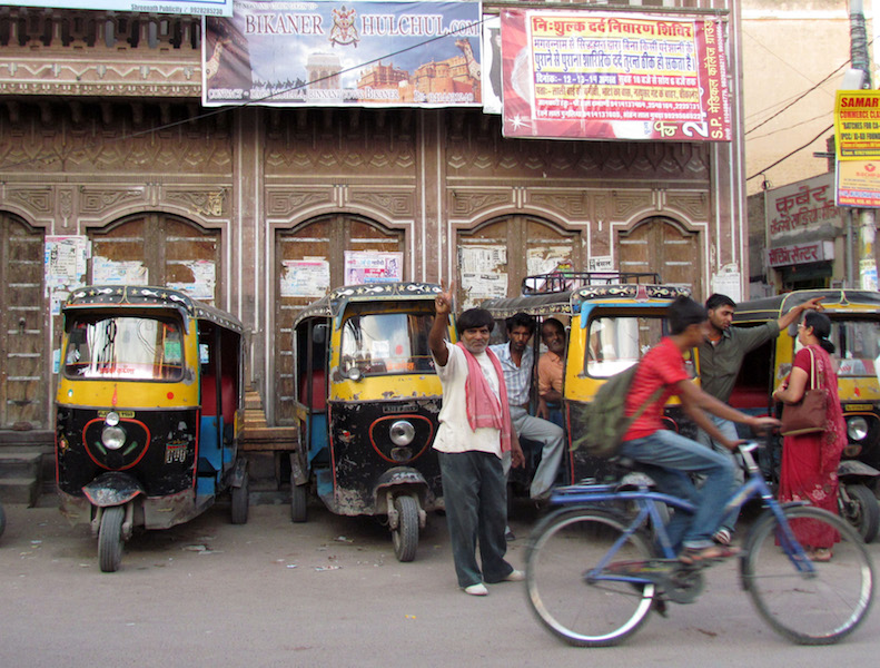 Quanto costa un viaggio in India, rickshawala, Rajasthan