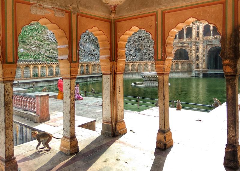Viaggio a Jaipur | Galta ji Mandir | SusIndia Blog