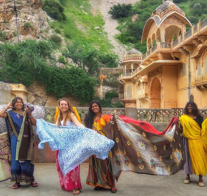 Viaggio a Jaipur | SusIndia al Tempio di Galta ji | Agosto 2017