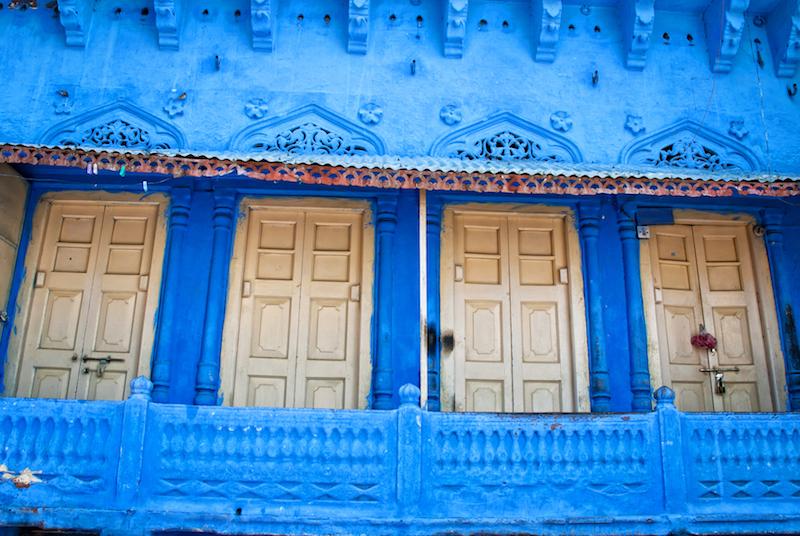 Viaggio a Jodhpur | Case blu | SusIndia Blog