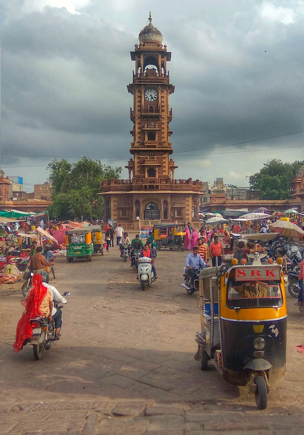 Viaggio a Jodhpur | Clock Tower | SusIndia Blog