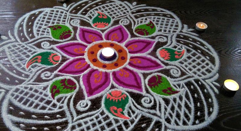 Diwali in India | Rangoli
