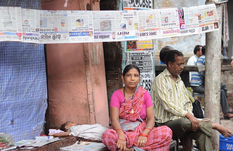 Mestieri di strada India | Akhbarwala