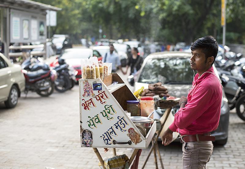 Mestieri di strada India | Chaatwala