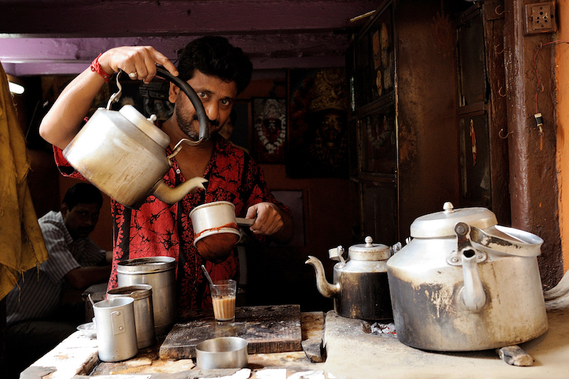 Mestieri di strada India | Chaiwala | Photo Credit Massimo Mazzotta @