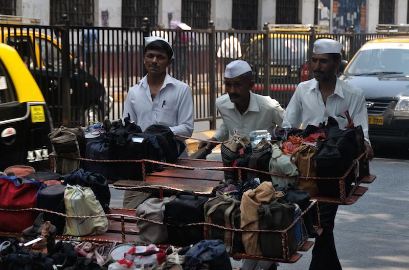 Mestieri di strada India | Dabbawala Mumbai | Photo Credit Melinda Fodor @