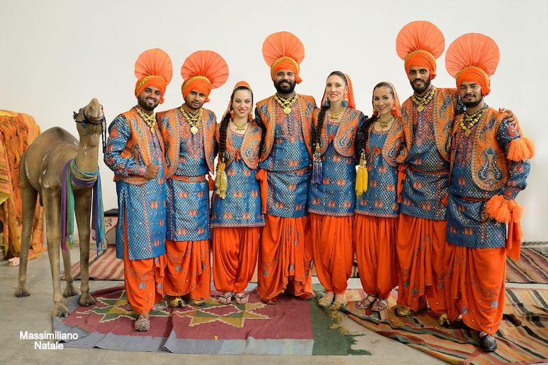 Danze indiane Bhangra Boys & Girls