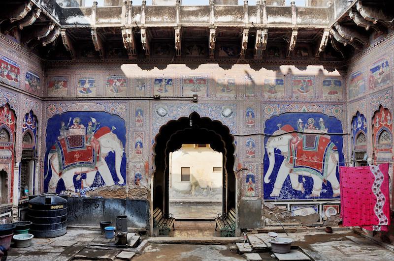 Viaggio in India | Shekhawati e le haveli dipinte | Deora Haveli Fatehpur