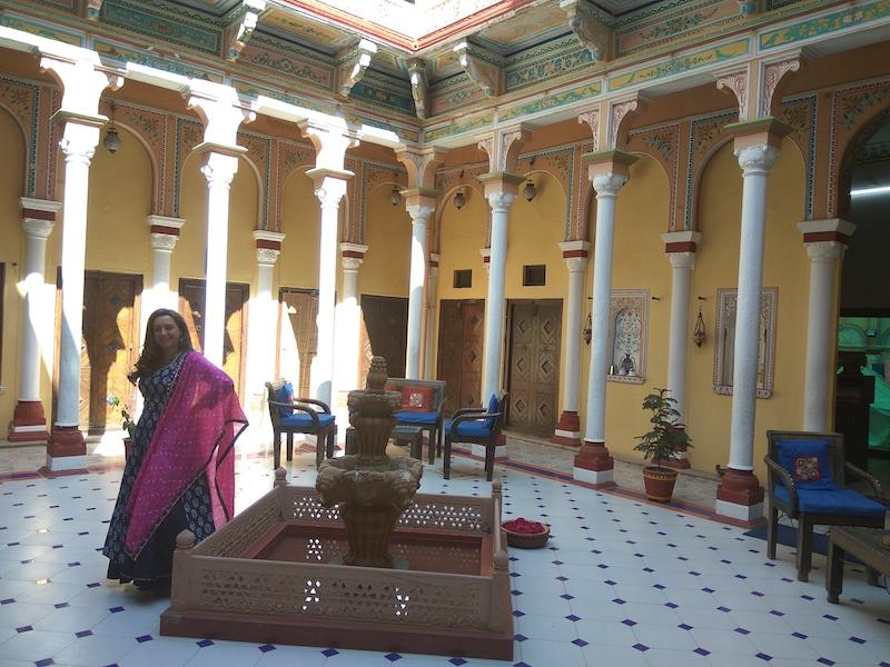 Viaggio in India | Shekhawati e le haveli dipinte | SusIndia nella Grand Haveli Nawalgarh