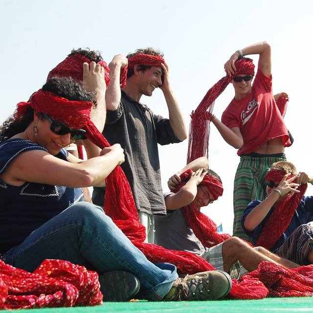 Desert Festival di Jaisalmer | gara di turbanti