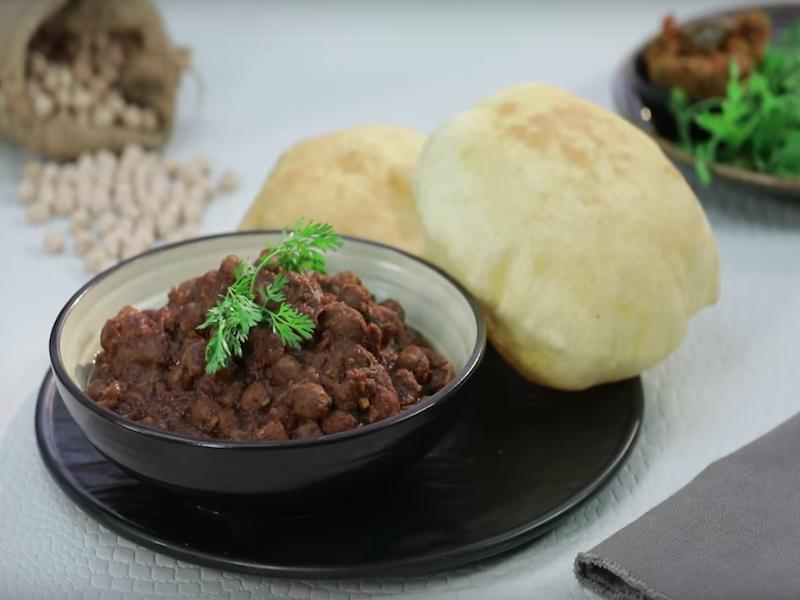 Colazione indiana | chole bhature
