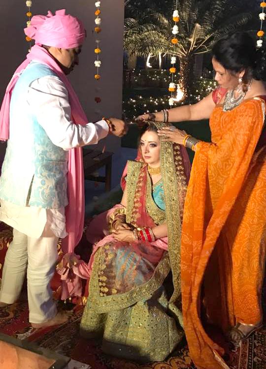 La sposa indiana | sindoor