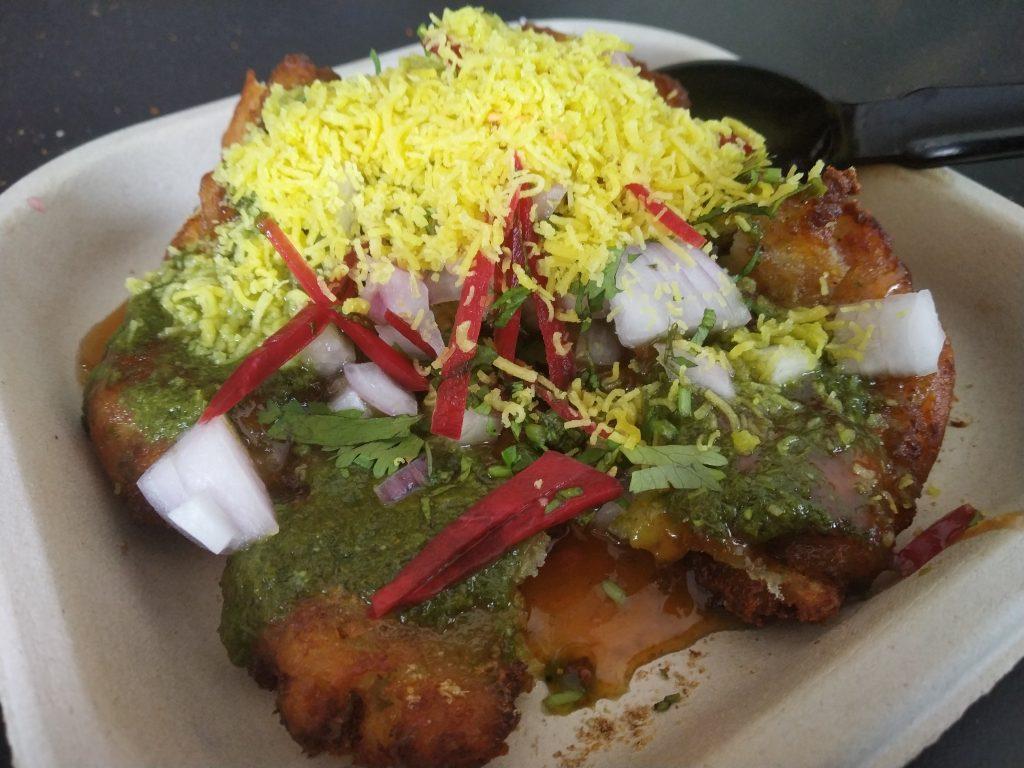 Street food India   Aloo Tikki chaat   ricetta fai da te