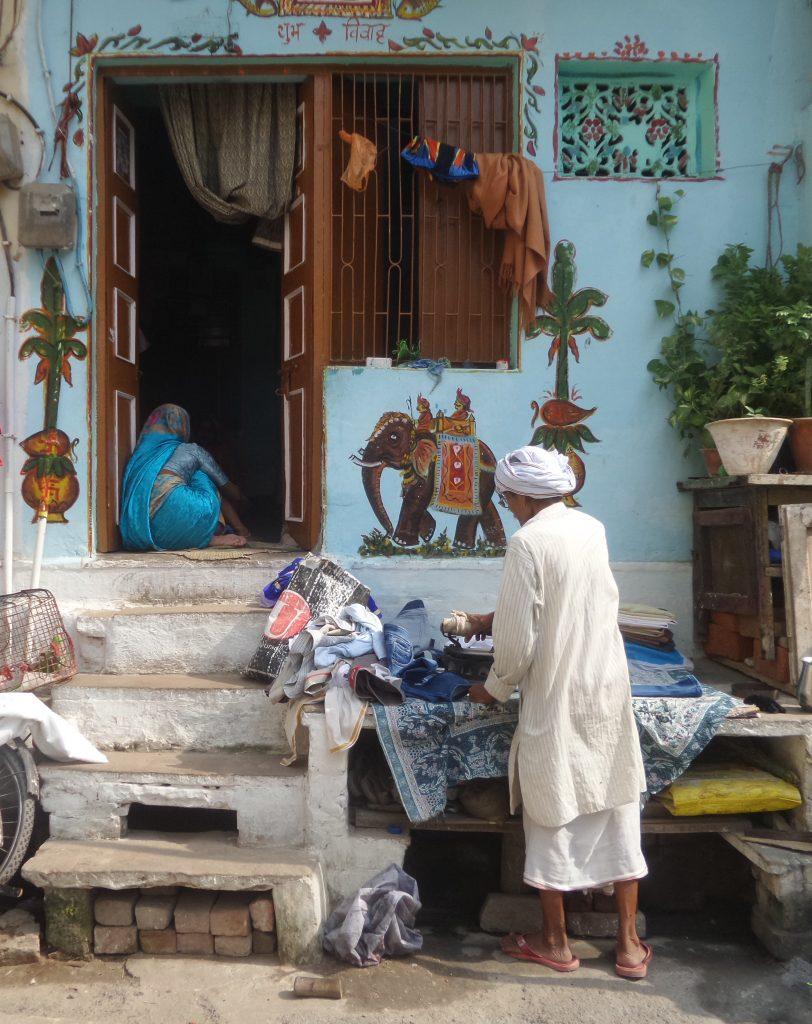 Viaggio a Varanasi | stiratore | Ph. Credit Giovanna Circe