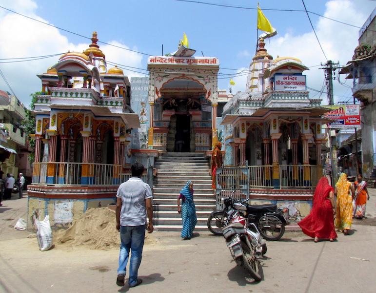 Viaggio a Bundi | tempio induista