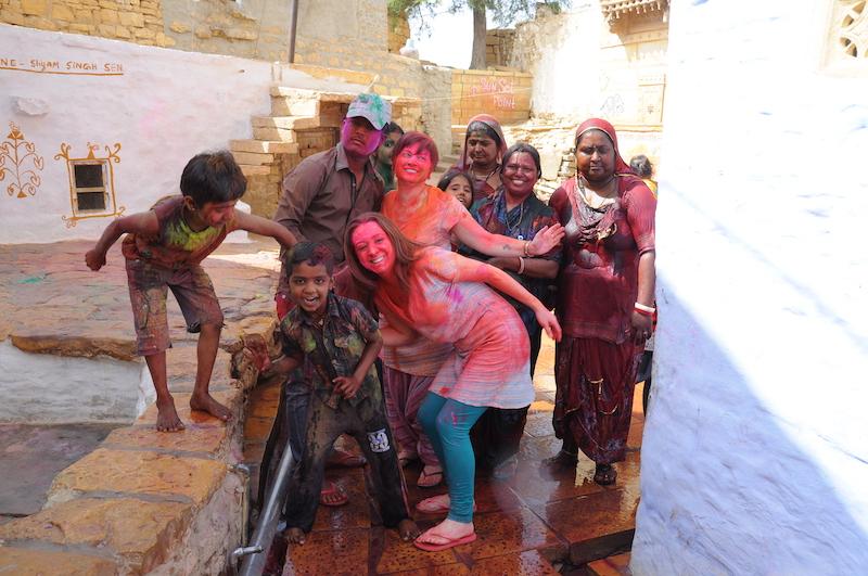 Viaggio a Jaisalmer | SusIndia Viaggi | Holi con Manu