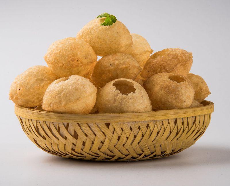 STREET FOOD INDIANO | panipuri in cestino