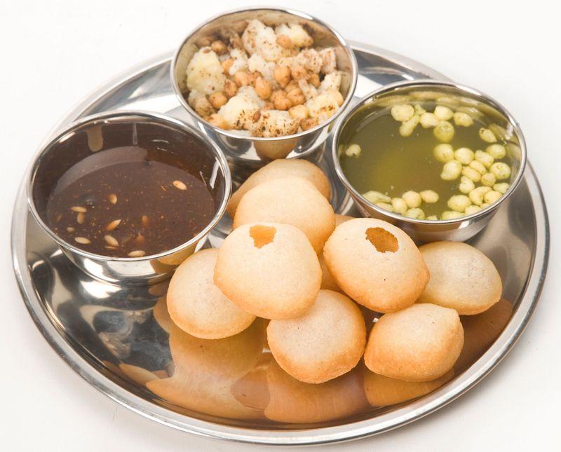 STREET FOOD INDIANO | panipuri impiattati