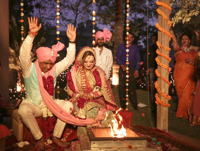 Il matrimonio induista - e vissero felici...